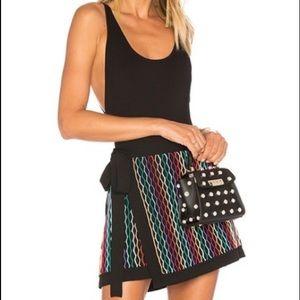 EUC- NBD Benton Skirt in Rainbow